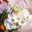 Stock Photo: Flowers bouquet close up
