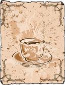 コーヒーの背景 — ストック写真