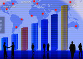 Conceptual business illustration — Stock Photo