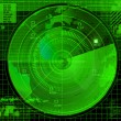 Radar illustration - Stock Photo