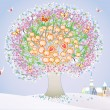 Royalty-Free Stock Vector Image: Abstract tree
