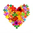Royalty-Free Stock Immagine Vettoriale: Heart vector