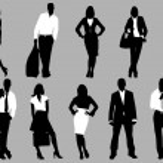 zakenmensen — Stockvector