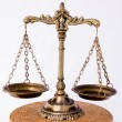 Old scales — Stock Photo