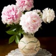 Still-life with peony — Stock Photo