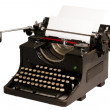 Old typewriter — Stock Photo #2377783