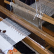 Stock Photo: Old wooden loom
