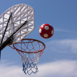 basket-ball de plage — Photo