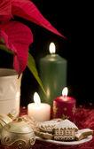 Natale natura morta — Foto Stock