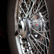 Stock Photo: Wire wheels