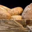 Stock Photo: Bread and grain