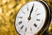 Old vintage clock — Stock Photo