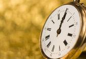 古いヴィンテージ時計 — ストック写真