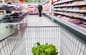In the supermarket — Stock Photo