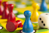 Colored figures — Stock Photo