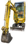 Small excavator — Stock Photo