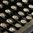 Antique typewrite — Stock Photo