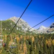 Mountain Chairlift — Stock Photo