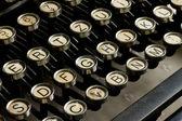 Antique typewrite — Stock Photo