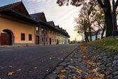 Old houses in autumn — Foto de Stock