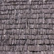 Texture - Old wood roof — Stock Photo