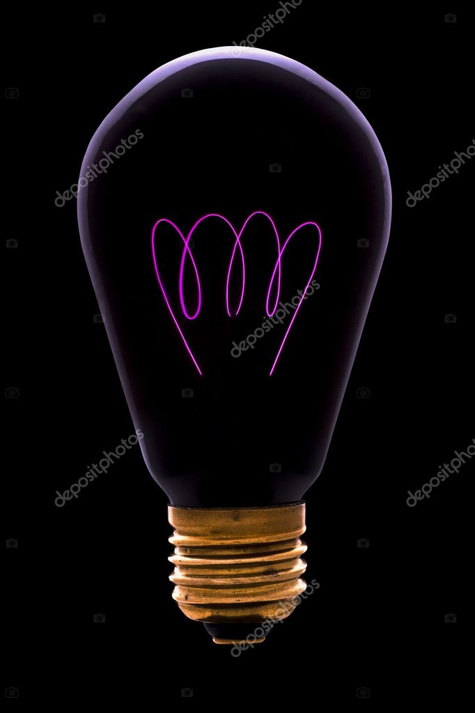 Old infrared lamp isolated on black — Stock Photo #2656935