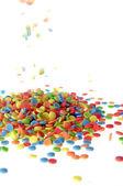 Colored Sugar drops — Stock Photo