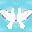 Royalty-Free Stock Vector Image: Dove and love