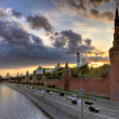 Moscow and the lovers — Stockfoto