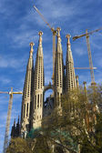 World famous Sagrada Familia — Stock Photo