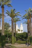 City park in Casablanca — Stock Photo
