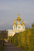 The Grand Palace in Peterhof — Stock Photo