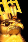 Egyptian god — Stock Photo