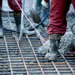 Stock Photo: Concreting