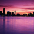 Foto Stock: City Twilight