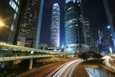 Crepúsculo de ciudad — Foto de Stock