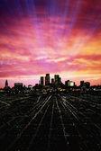 City Twilight — Stock Photo