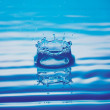 Shapes of water — Stock Photo