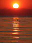 Wschód słońca — Zdjęcie stockowe