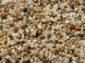 Coarse sand — Stock Photo