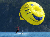 Parasailer — Stock Photo