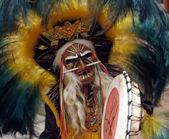 Native shaman — Stock Photo