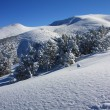Foto Stock: Winter mountain
