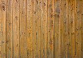 Old wooden plank background with nails — Stock Photo