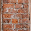 Old damaged brick wall — Stock Photo #2453661
