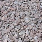 Granite gravel texture — Stock Photo