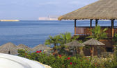 Mooie beach resort op malta — Stockfoto