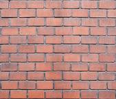 Vieux mur de brique rouge — Photo
