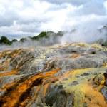 Pohutu Geyser, Rotorua, New Zealand — Stock Photo