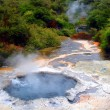 Geothermal Pool, Waimangu, New Zealand - Stock Photo